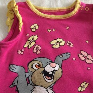 [Disney] Pink Thumper Romper